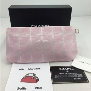 🌸Chanel Multiple-case Pink Nylon Jacquard🌸
